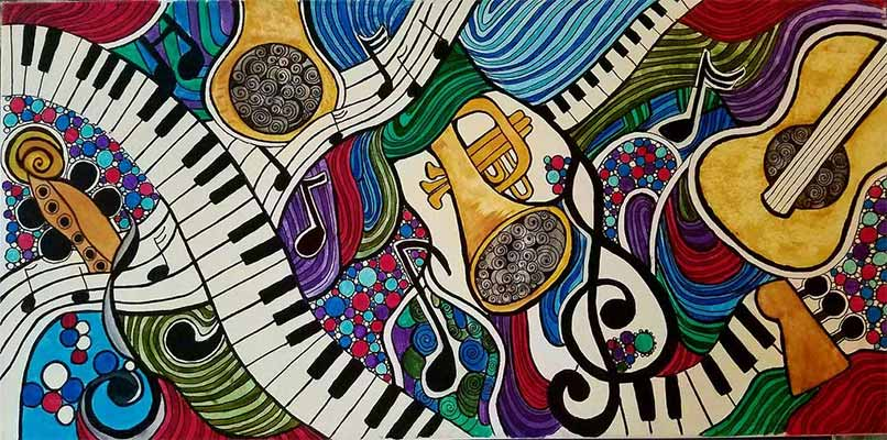 Music art and cultural