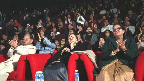 Audience at christmas celebration 2017