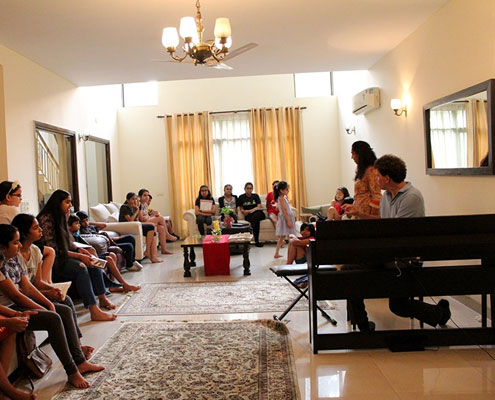 Piano classes house concert