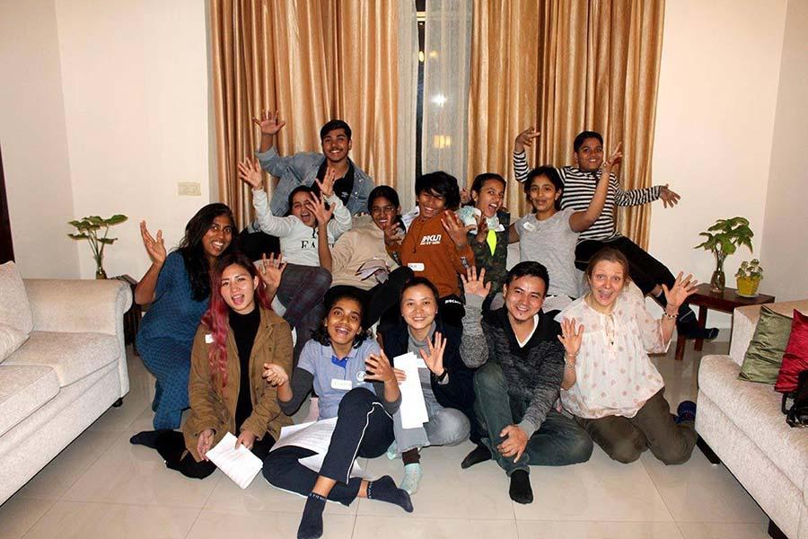 Choral singing workshop dec 2019 group photo