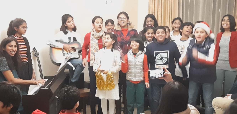 Choral Singing | Concert | CHRISTMAS CAROL | Piano ...