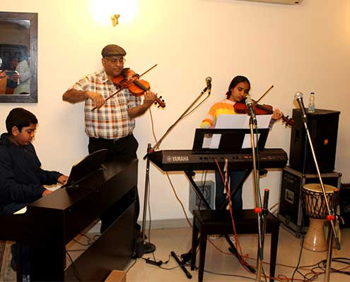 Piano and Violin Classes