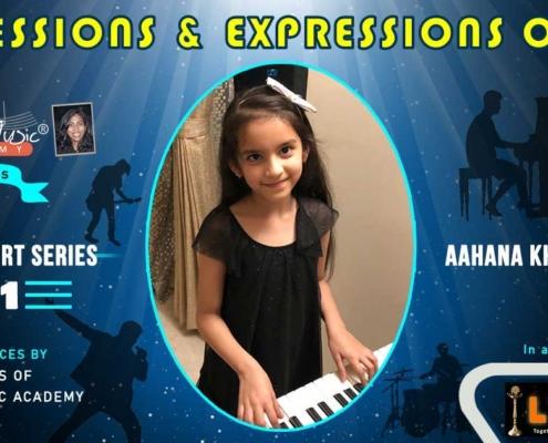 Online music concert performer aahana khanna