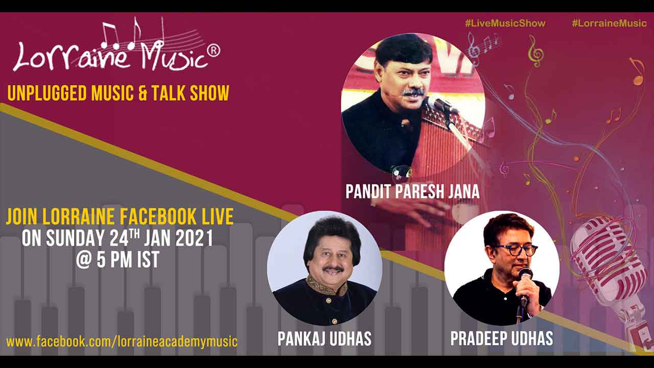 Unplugged music and talk show