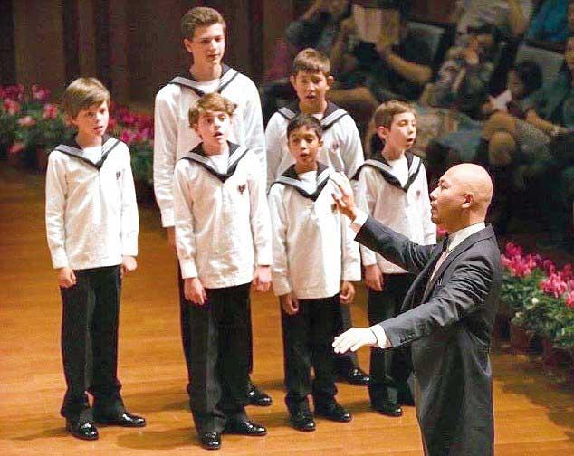 Global Excellence choir singing